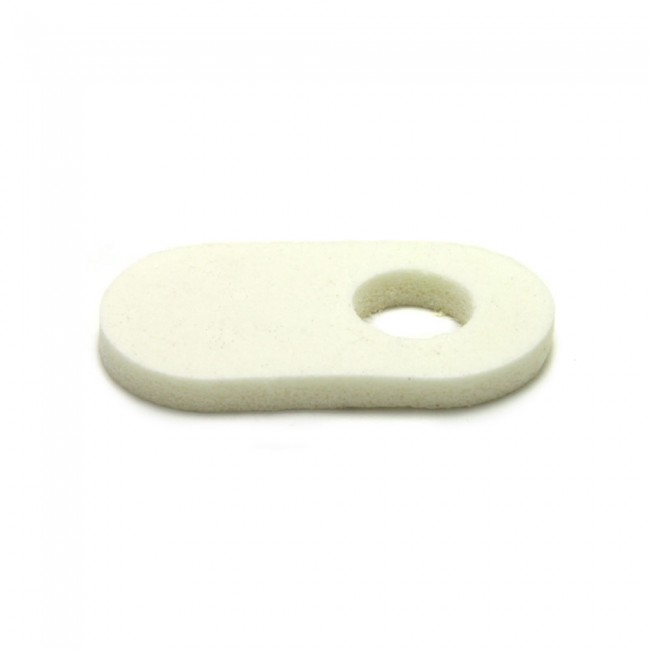 1/8 FOAM CORN PAD (OFF CENTER HOLE)