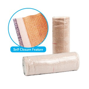 ELASTIC BANDAGE (ACE TYPE)  LF SELF CLOSER 3""