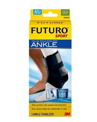 Ankle Stabilizer Futuro™ One Size Fits Most Hook and Loop Closure Left or Right Ankle 20/CSE