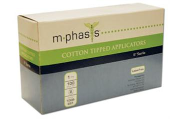 "APPLICATOR COTTON TIP 6"" N/S"