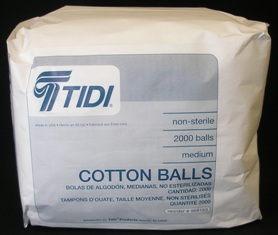 BALL COTTON XLARGE NONSTERILE WHITE 4 BAGS OF 500