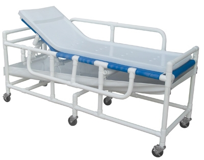 PVC Shower Bed Lumex PVC Shower Bed / Stretcher
