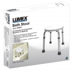 Lumex Round Bath Stool in Retail Package 1/EACH