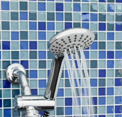 DELUXE HAND-HELD SHOWER HEAD - CHROME FINISH