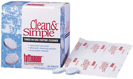 CLEAN & SIMPLE TABLET, ENZYMATIC  (144/BX 12BX/CS)