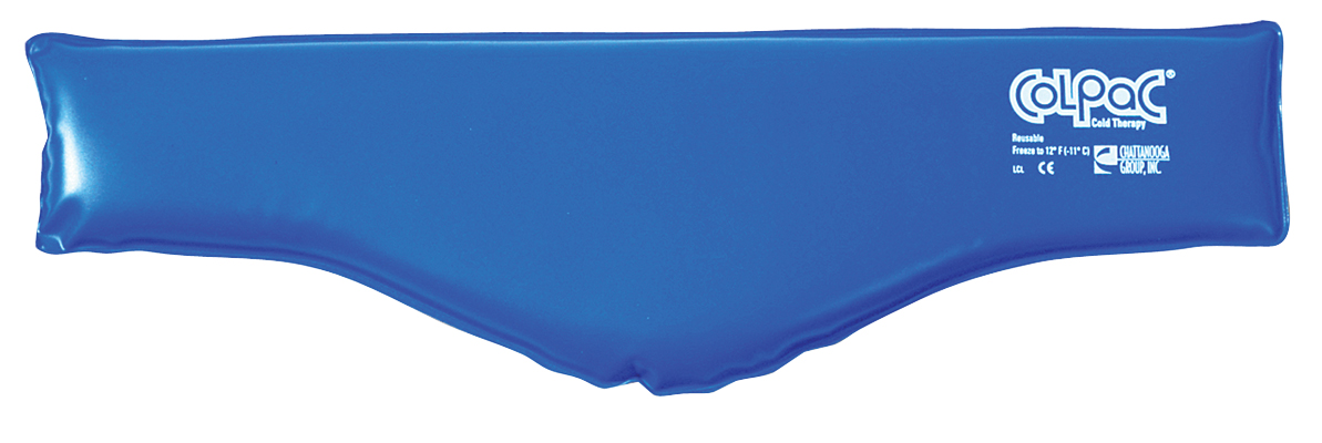 "ColPaC® Blue Vinyl Cold Pack  Reusable - neck - 6"" x 23"":"