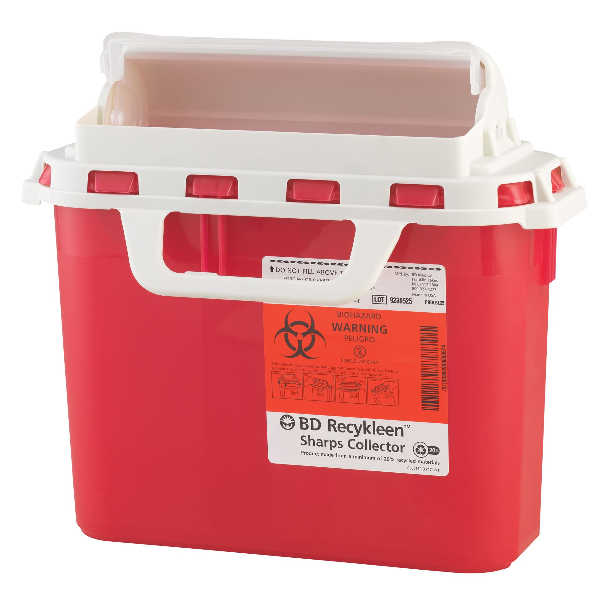 CONTAINER SHARPS 8QT MULTI USE