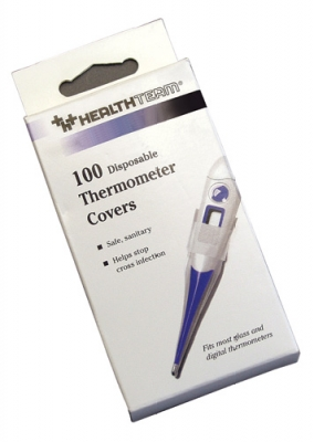 Disposable Probe Covers/Thermometer Sheaths, Retail Packaged 100/PKG