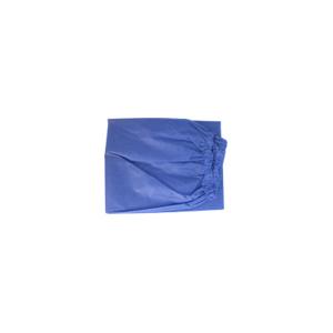 Disposable Scrub Pants, Elastic Waist - Large, Light Blue