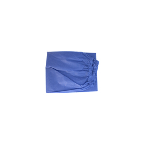 Disposable Scrub Pants, Elastic Waist - Medium, Light Blue