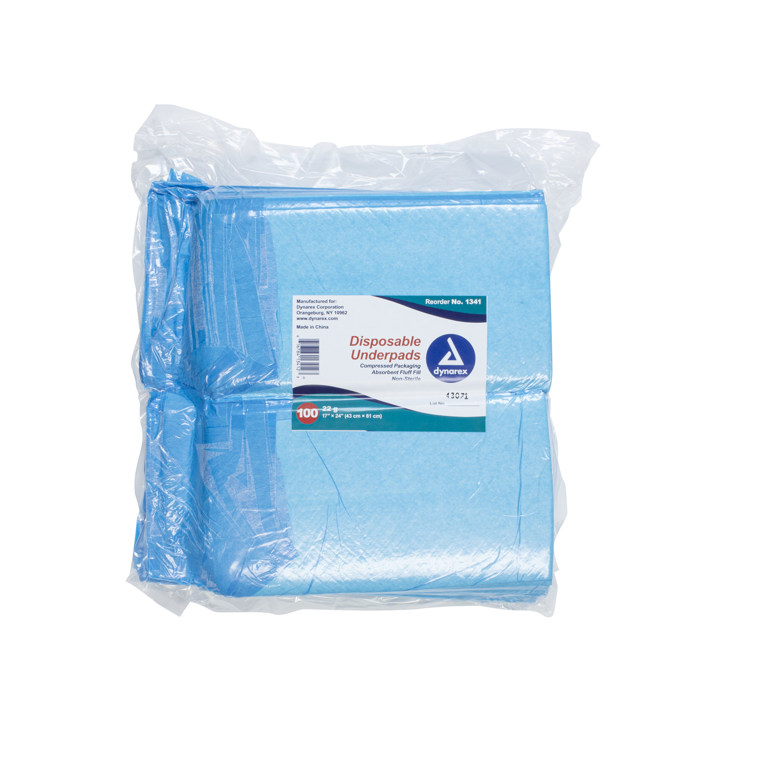 Disposable Underpads, 17 x 24 (22 g),