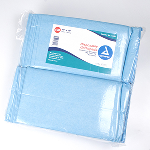 Disposable Underpads, 23 x 36 (60 g), 3/50/Cs
