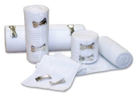 ELASTIC BANDAGE MEDI-PAK ELASTIC KNIT 4 Inch X 5 YRD NON STERILE 50/CSE