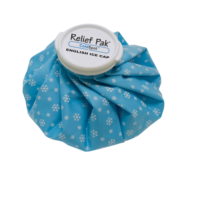 Relief Pak English Ice Cap Reusable Ice Bag 9""