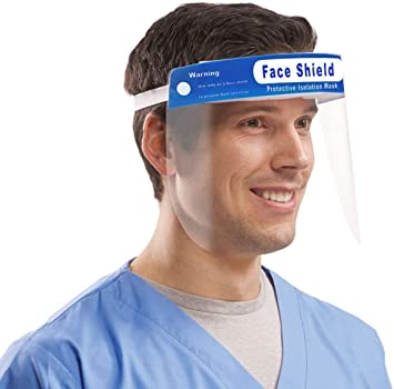 Face Shield, Full Guard Pack of 10