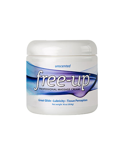 Free-Up® Massage Cream - 16 oz jar