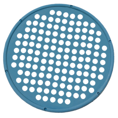"Hand Exercise Web - Low Powder - 14"" Diameter - Blue - Heavy:"