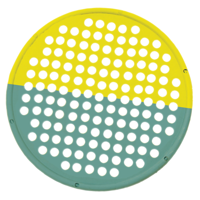 "Hand Exercise Web - Low Powder - 14"" Diameter - multi-resistance, Yellow/Green:"