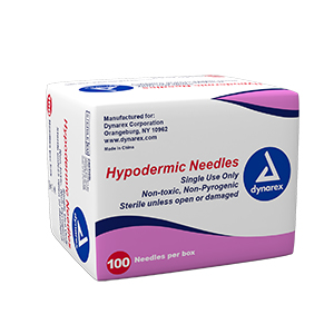 Hypodermic Needle -25G, 5/8