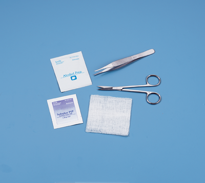 KIT SUTURE REMOVAL STERILE W/FLOOR GRADE INSTRUMENTS