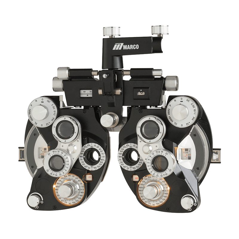 Marco RT-700 Black Illuminated Refractor with Minus Cylinders