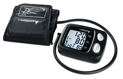 AUTOMATIC DIGITAL BLOOD PRESSURE MONITOR Lumiscope