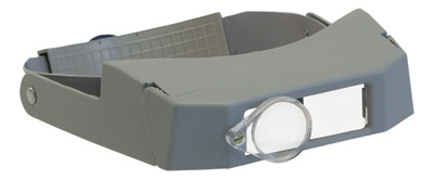 Binocular Loupe with Auxiliary Lens 2""