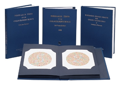 ISHIHARA TEST CHART-24 PLATE(Abridged Edition) Book