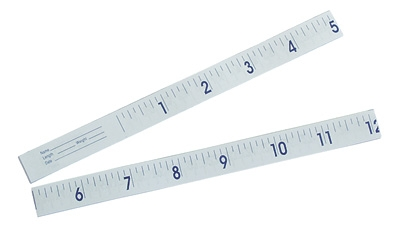 "Paper Infant Tape Measure 24"" 1000/bx"