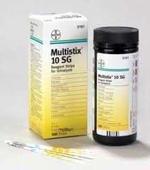 Multistix Siemens Urine Test Strips 10 SG,