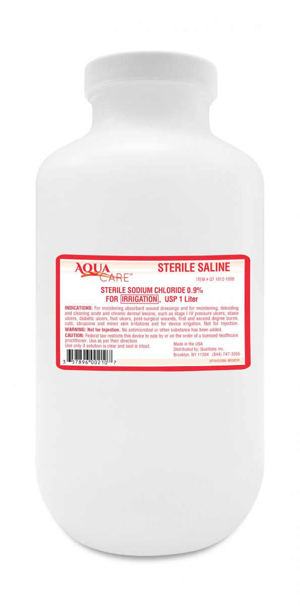 SALINE STERILE 100ML FOR IRRIGATION