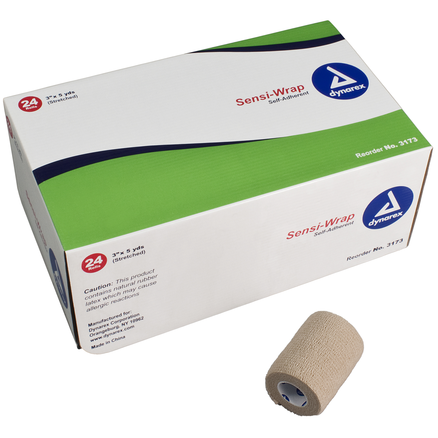 SENSI WRAP SELF-ADHERENT, 3 (COBAN)
