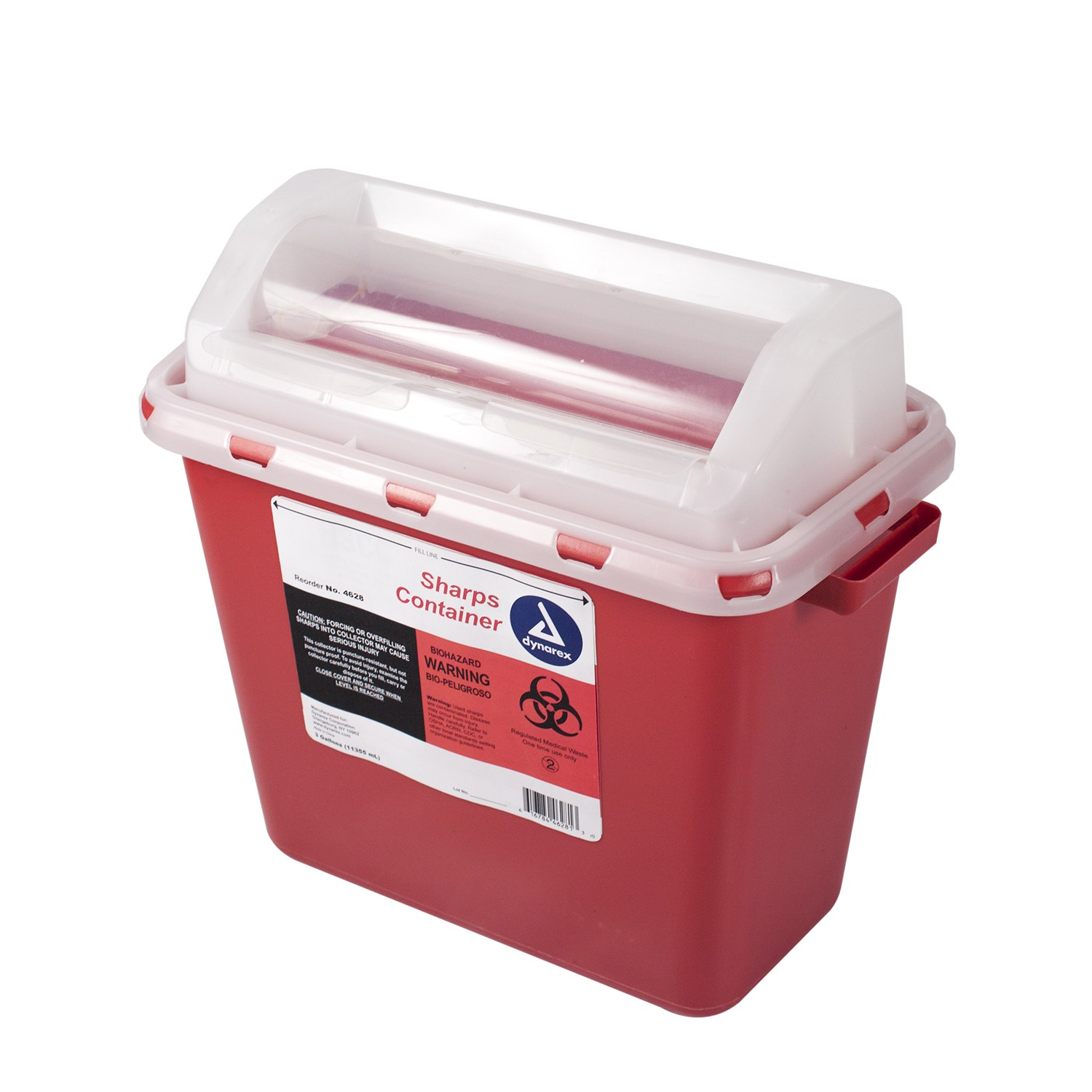 Sharps Containers, 3gal 12/cs