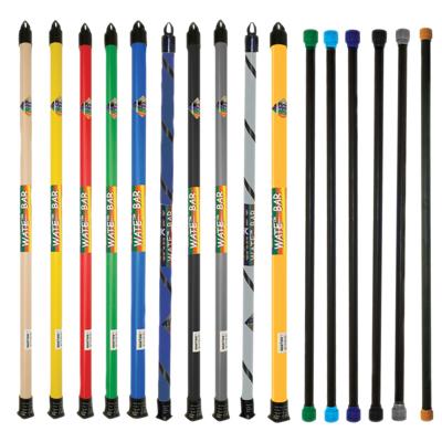 CanDo® Slim® WaTE™ Bar - 16 Piece Set - 1, 2, 3, 4, 5, 6, 7, 8, 9, 10, 12.5, 15, 17.5, 20, 22.5, 25 lb