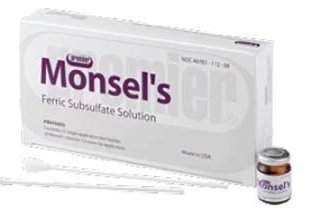 SOLUTION, MONSELS 8ML (12/BX)