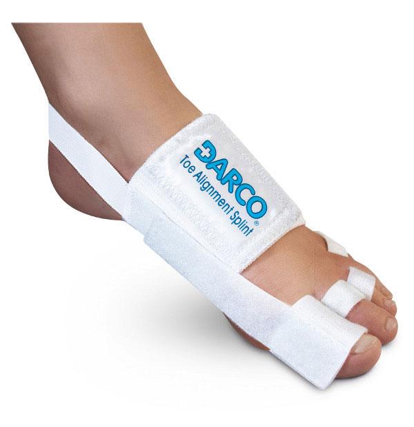 TAS Splint Toe Darco Elastic White Unisize