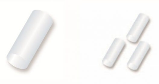 Temporary Collagen Plug- .2mm 6 plugs per packet/12 packets per box (72 total)