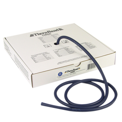 TheraBand® exercise tubing - 25' roll - Blue - extra heavy: