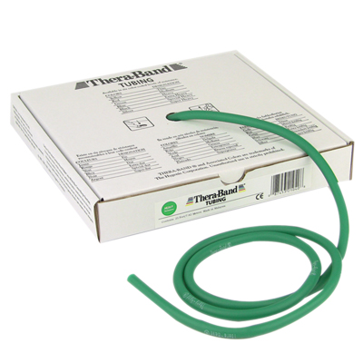 TheraBand® exercise tubing - 25' roll - Green - heavy: