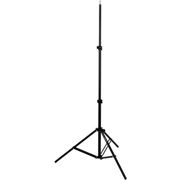 "Tripod Impact 6' Light Stand w 1/4"" Threaded Top for K3 thermometer"