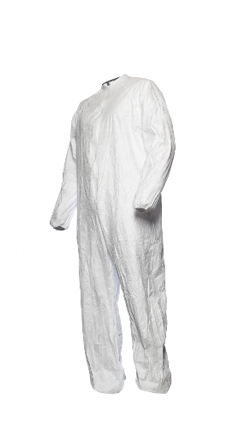 Tyvek® IsoClean®coverall with collar,